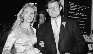 "Edward M. ""Ted"" Kennedy's first marriage to Joan Bennett, ended in divorce in 1982, with Time nmagazine reporting the marriage was annulled by the Vatican more than a decade later."
