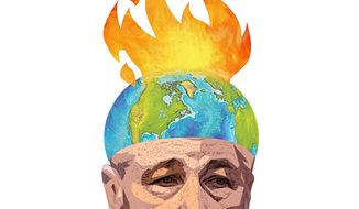 Illustration of Charles Hagel by Greg Groesch/The Washington Times