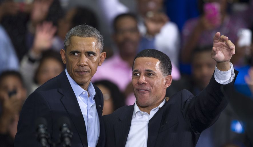 President Barack Obama and Maryland Gubernatorial Democrat ...