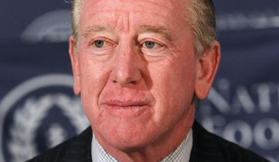 National Football Foundation chairman Archie Manning attends a news conference for the 55th NFF annual award ceremonies, Tuesday, Dec. 4, 2012, in New York. (AP Photo/Jason DeCrow)
