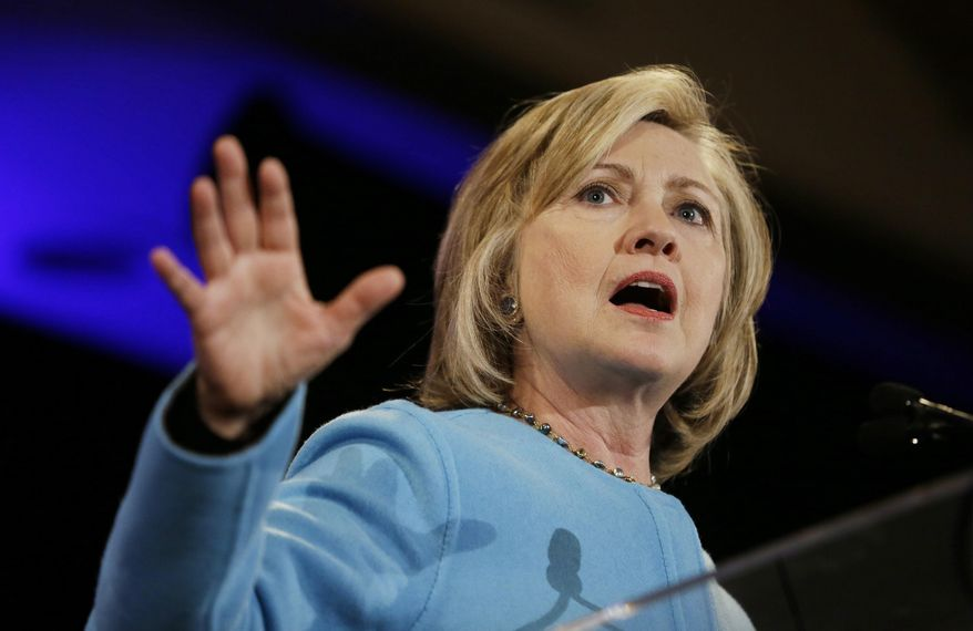 Coding changes to Facebook will it more difficult for potential 2016 presidential candidates like Hillary Rodham Clinton to target Facebook friends deemed receptive to a campaign's message. (AP Photo/Eric Risberg)