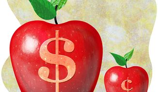 Underfunding of Charter Schools in D.C. Illustration by Greg Groesch/The Washington Times