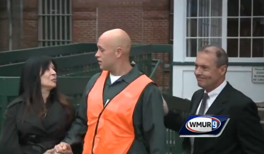 A New Hampshire couple has gone above and beyond in forgiving their son's killer by taking him into their home and helping him get back on his feet after he was paroled Thursday. (WMUR 9)