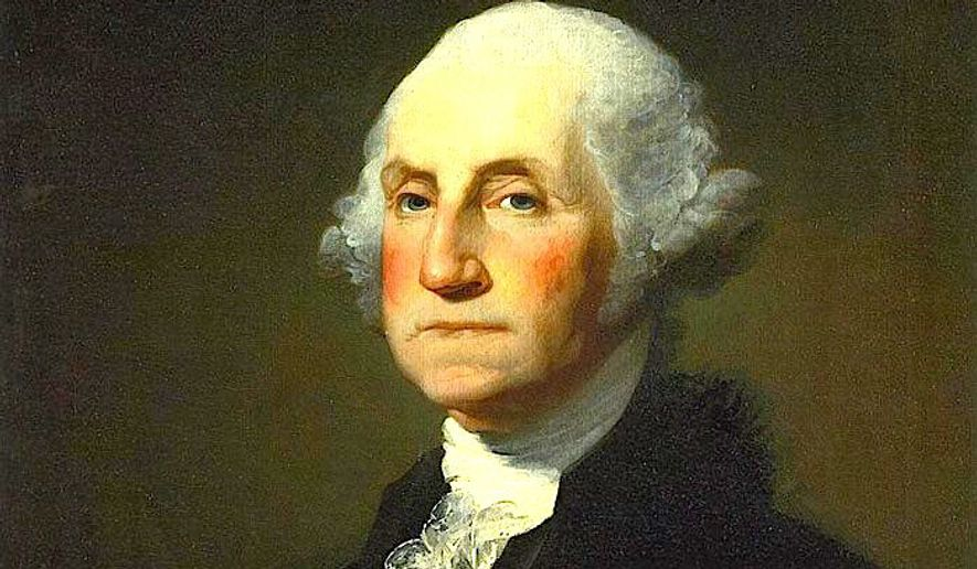 A recreation of George Washington's apple brandy soon goes on sale at Mount Vernon, made with the same historic apple varieties he favored. (Portrait by Gilbert Stuart)