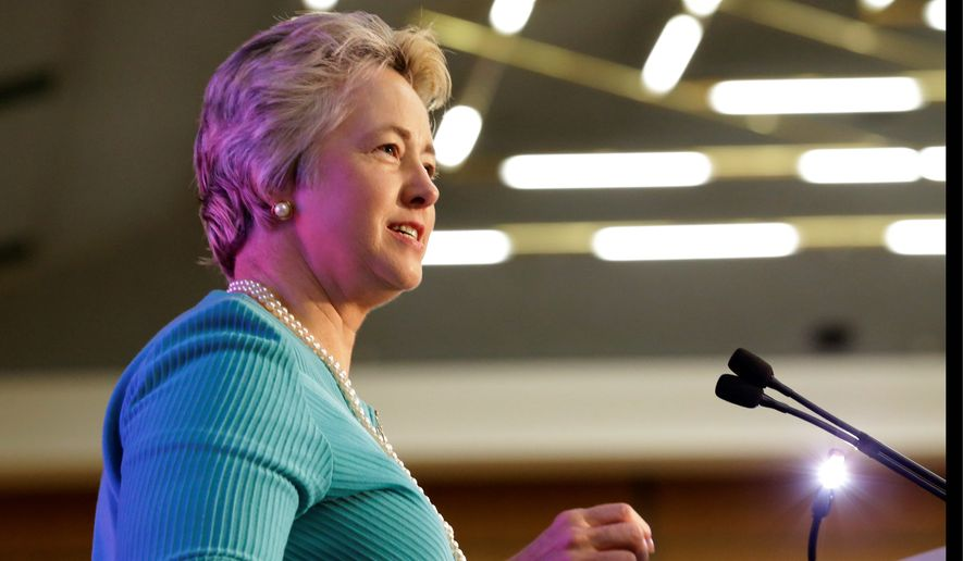 Houston Mayor Annise Parker. (AP Photo/LM Otero)