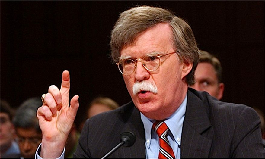 Former U.N. Ambassador John Bolton (Image courtesy of John Bolton PAC)