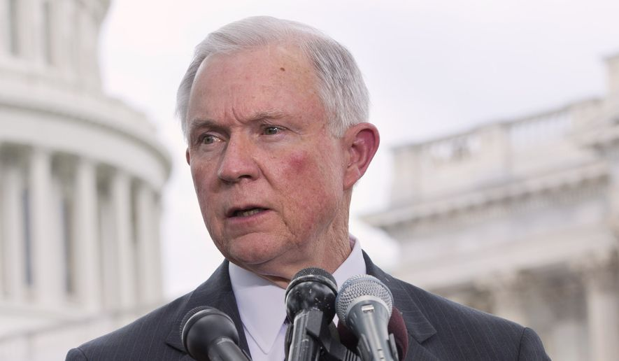 Sen. Jeff Sessions, an Alabama Republican who has led opposition to Mr. Obama's immigration plans, said the results of the midterm elections show voters gave a clear mandate to the president. (Associated Press)