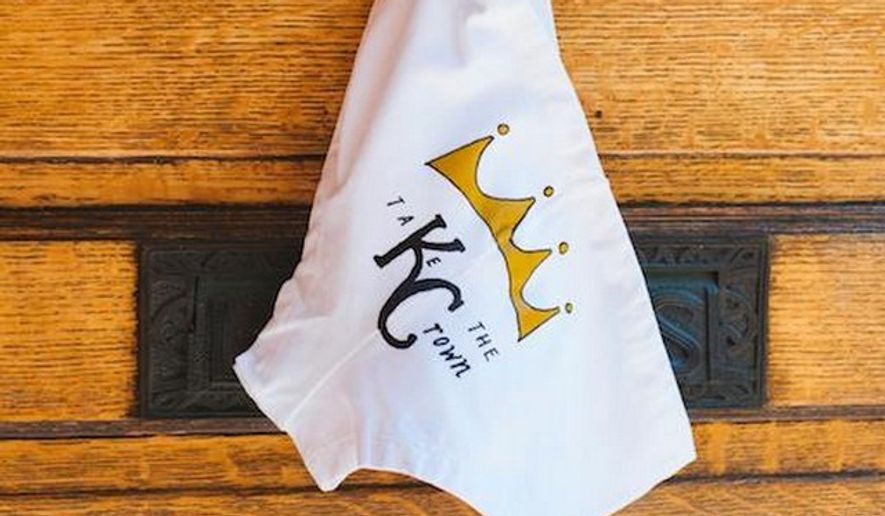 Peregrine Honig, owner of Honig's Birdies Panties shop, in Kansas City, says her store was raided by Homeland Security agents Monday morning over a few dozen pair of panties she made in honor of her hometown baseball team. (Facebook/Peregrine Honig)