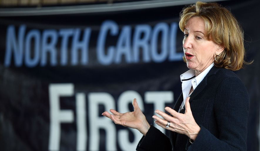 "Though Sen. Kay Hagan, North Carolina Democrat, voted last year for the Senate bill that would have legalized most illegal immigrants, the North Carolina Dream Team, a group of ""dreamers,"" young adult immigrants who were brought to the country illegally, said the rest of her record makes her unworthy of Hispanic votes. (Associated Press)"
