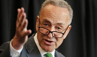 Sen. Charles E. Schumer, New York Democrat. (Associated Press) ** FILE **