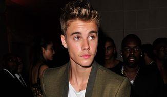 Justin Bieber (associated press)
