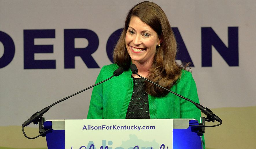 National Democrats will invest $650,000 in ads to boost Kentucky Senatorial candidate Alison Lundergan Grimes against Sen. Mitch McConnell. (Associated Press)
