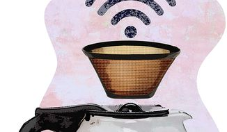 Filtering WiFi at Coffee Shops Illustration by Greg Groesch/The Washington Times