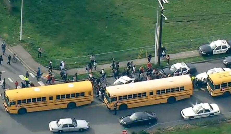Gunshots reported at Marysville-Pilchuck High School in Washington State. KOMONews.com