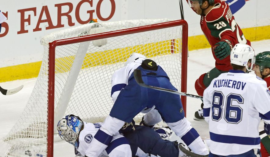 Zucker and Wild storm Lightning in 7-2 win - Washington Times