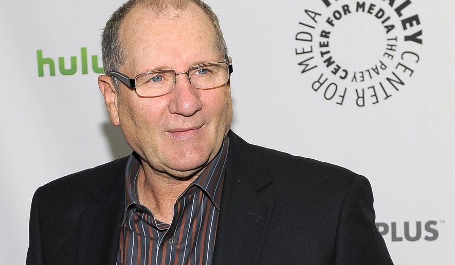 "FILE - In this March 12, 2012 file photo, actor Ed O'Neill, a cast member in the television series ""Modern Family,"" poses before the PaleyFest panel discussion on the show, in Beverly Hills, Calif.  O'Neill is supporting an effort to raise funds to complete a documentary about former U.S. Rep. James A. Traficant Jr. (AP Photo/Chris Pizzello, File)"