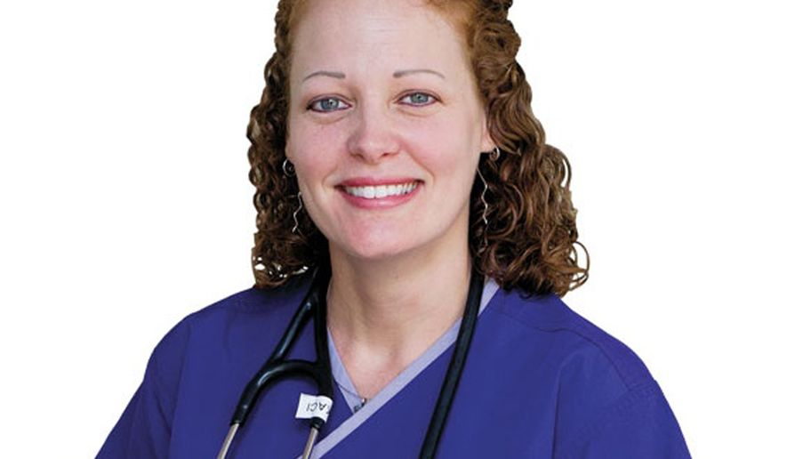 """This undated image provided by University of Texas at Arlington shows Kaci Hickox. In a Sunday, Oct. 26, 2014 telephone interview with CNN, Hickox, the nurse quarantined at a New Jersey hospital because she had contact with Ebola patients in West Africa, said the process of keeping her isolated is """"inhumane."""" (AP Photo/University of Texas at Arlington)"""