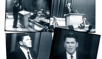 """Ronald Reagan giving his """"A time for choosing"""" speech in 1964             The Washington Times"""