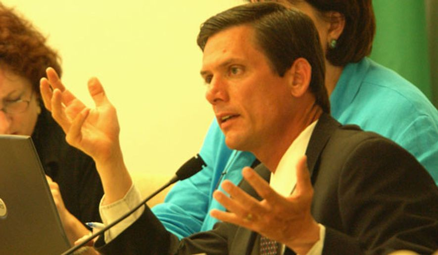 Mark Miloscia is a Republican candidate for state Senate in Washington. (markmiloscia.com)