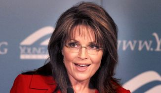 Former Alaska Gov. Sarah Palin. (Associated Press)