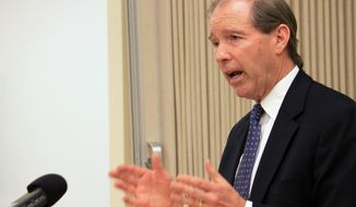 Sen. Tom Udall, New Mexico Democrat. (Associated Press/Susan Montoya Bryan) **FILE**