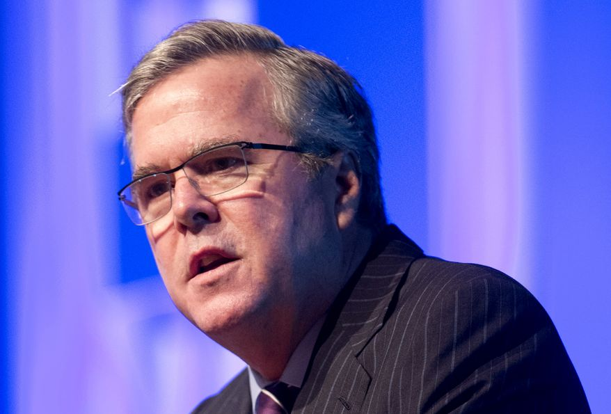 The biggest question mark on the Republican side is whether former Florida Gov. Jeb Bush will run for president in 2016. (Associated Press)