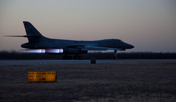 The crew of a B1-B Lancer flying combat air support during a mission in Afghanistan mistook American soldiers on the ground for enemy fighters and mistakenly fired upon the group, killing them where they stood. (u.s. air force)