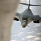 bird of prey: In inquiries following the friendly fire deaths of five American servicemen and one Afghan battalion commander, officials have questioned the efficacy of the B-1B bomber and its crews to carry out precision strikes. (u.s. air force)