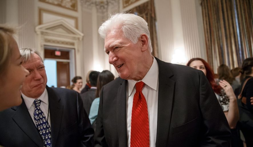 Rep. Jim Moran received $1,500 through a FedBid PAC, but his office said political donations played no role in his request to reinstate a Veterans Affairs policy. (Associated Press)