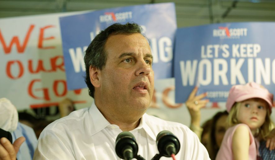 New Jersey Gov. Chris Christie. (Associated Press)