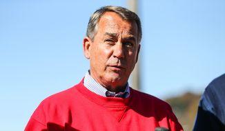 Speaker of the House John Boehner, R-Ohio. (AP Photo/The Herald-Dispatch, Sholten Singer)