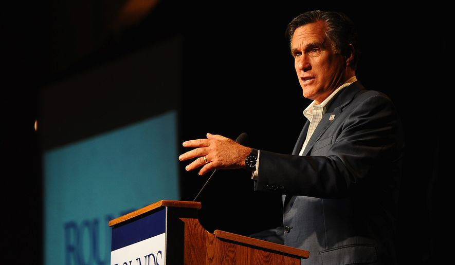 High-profile names, like former GOP presidential nominee Mitt Romney, on email campaign solicitations increase the odds of receiver click-thrus. (associated press)