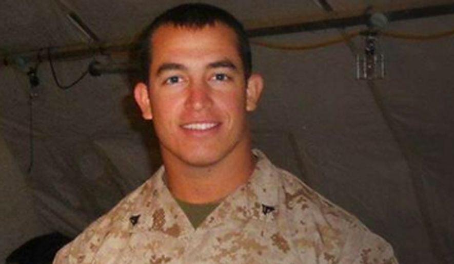 Marine Sgt. Andrew Tahmooressi. (Image: Twitter, Rep. Ed Royce, R-Calif.)