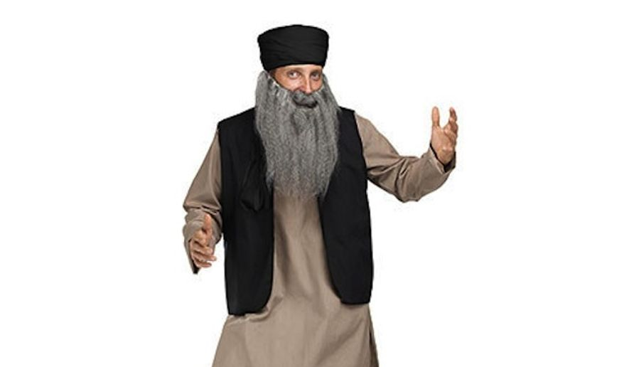 "Just four days after Wal-Mart apologized and removed Monday an online shopping category titled ""Fat Girl Costumes,"" it's now doing the same for a particular costume called the ""Pashtun Papa."" (Wal-Mart)"