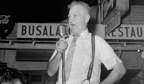 Gov. Earl Long in 1959    Associated Press photo