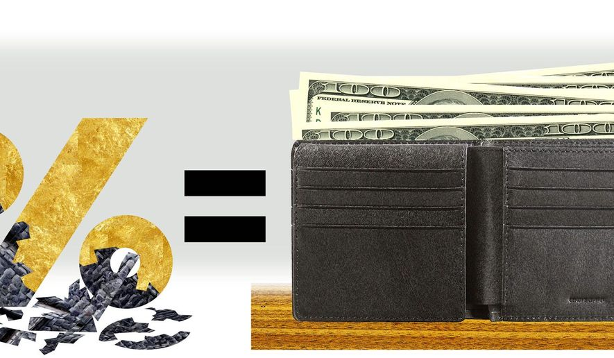 Making clear concrete benefits of tax reform (Illustration by Alexander Hunter/The Washington Times)