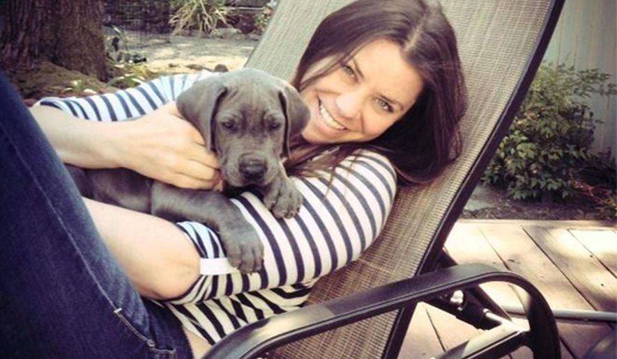 FILE - This undated file photo provided by the Maynard family shows Brittany Maynard, a 29-year-old terminally ill woman who plans to die under Oregon's law that allows the terminally ill to end their own lives. Sean Crowley, spokesman from the group Compassion & Choices, said late Sunday, Nov. 2, 2014, that Maynard was surrounded by family Saturday when she took lethal medication prescribed by a doctor and died. She was weeks shy of her 30th birthday. (AP Photo/Maynard Family, File)
