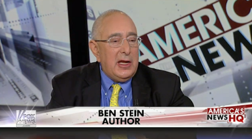 """Ben Stein argued Monday that the """"real problem"""" with race in America is the """"pathetic, self-defeating black underclass"""" that's plagued by drugs and gangs. (Mediaite) ** FILE **"""