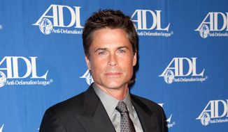 Actor Rob Lowe attends the Entertainment Industry Awards Dinner at the Beverly Hilton Hotel in Beverly Hills, Calif., in this Oct. 16, 2012, file photo. (Photo by Richard Shotwell/Invision/AP, File)