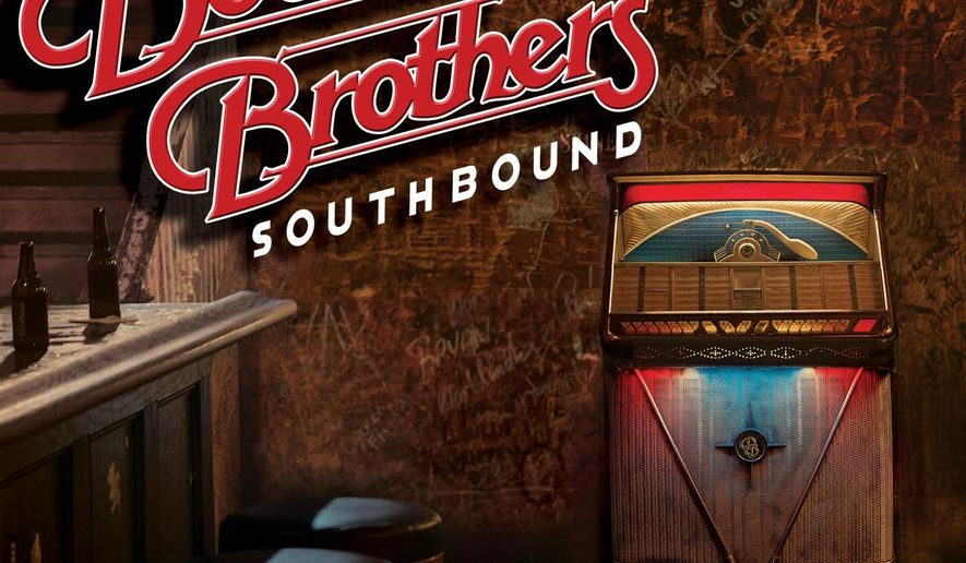 """This CD cover image released by Sony Nashville shows """"Southbound,"""" the latest release by The Doobie Brothers. (AP Photo/Sony Nashville)"""