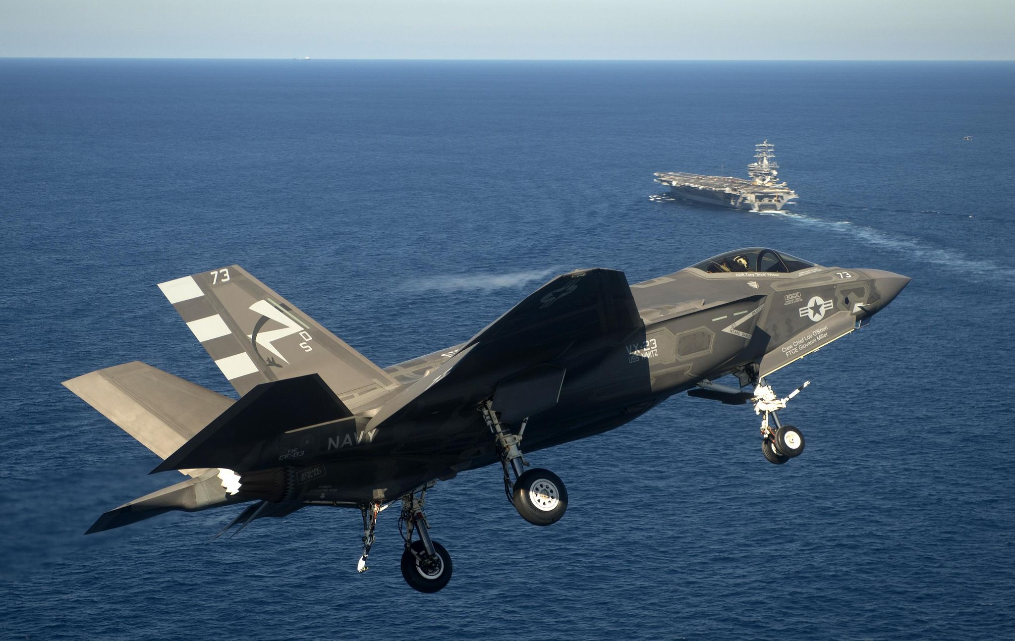 Air Force, Navy restocked with planes, missiles as Congress counters U.S. air power decline