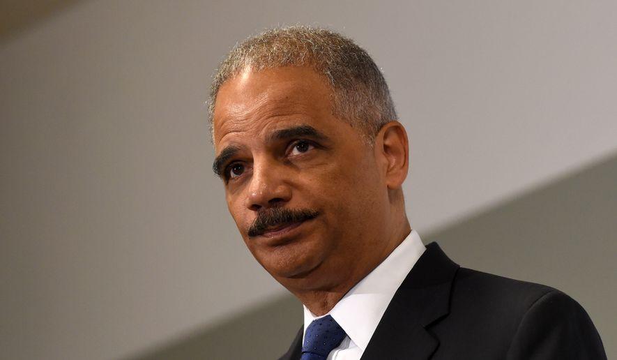 Eric Holder (Associated Press)