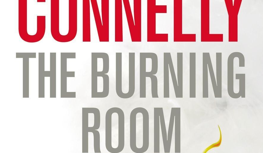 "This book cover image released by Little, Brown and Co. shows ""The Burning Room,"" by Michael Connelly. (AP Photo/Little, Brown and Co.)"