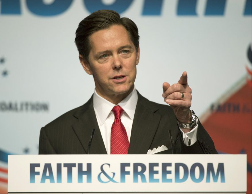 """""""It's going to be the most ambitious and far-reaching voter mobilization effort in the history of the conservative faith community, and it's going to be roughly three times the level of what we did in 2016,"""" said Ralph Reed, founder and chairman of the Faith & Freedom Coalition. (Associated Press) ** FILE **"""