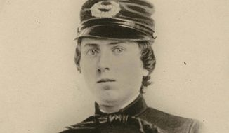 This undated photo provided by the Wisconsin Historical Society shows First Lt. Alonzo H. Cushing. President Barack Obama is bestowing the nation's highest military honor on the Union Army officer who was killed more than 150 years ago in the Battle of Gettysburg. Cushing died in July 1863 while standing his ground against Pickett's Charge. Congress had to grant an exemption for Cushing, since recommendations for a Medal of Honor must be made within two years of an act of heroism. (Associated Press/Wisconsin Historical Society)