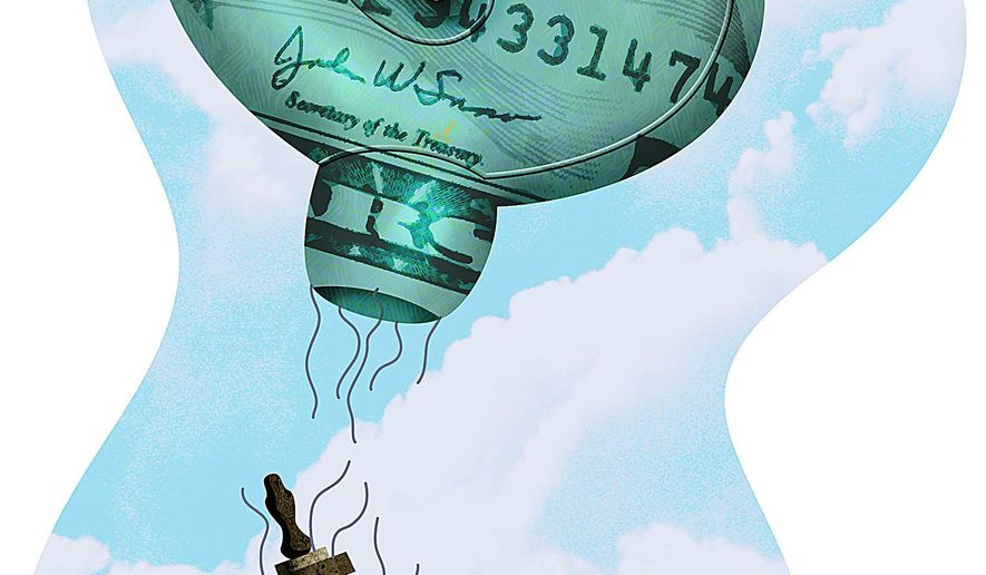 Economic Deregulation and Growth Illustration by Greg Groesch/The Washington Times