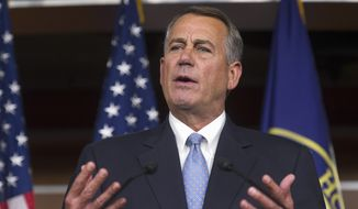 House Speaker John A. Boehner of Ohio said the Republican-controlled Congress will hold more votes to repeal the Affordable Care Act. (associated press)