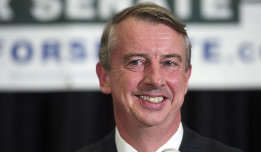 Ed Gillespie. (AP Photo/Cliff Owen) ** FILE **