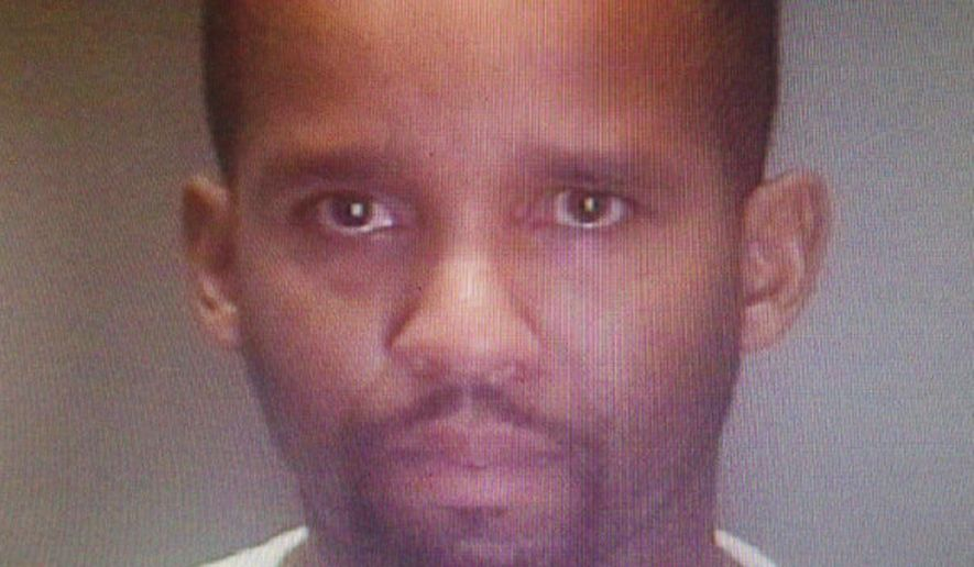 This photo provided by the Philadelphia Police Department shows Delvin Barnes, 37.  Barnes was arrested Wednesday, Nov. 5, 2014,  in reference to the abduction of Carlesha Freeland Gaither. (AP Photo/Philadelphia Police Department)