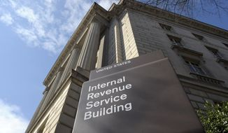 "Jim Kinney proposes a 25 percent cut in the federal workforce, starting with ""the 15,000 new IRS agents authorized to enforce Obamacare tax collection efforts."" (AP Photo/Susan Walsh, File)"